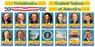 (TREND enterprises, Inc. T-8065 U.S. Presidents Bulletin Board)