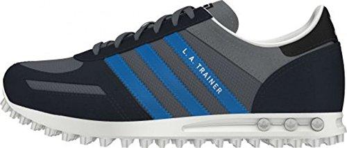 adidas La Trainer K - Zapatillas de Gimnasia Para Bebés Grigio/Azzurro
