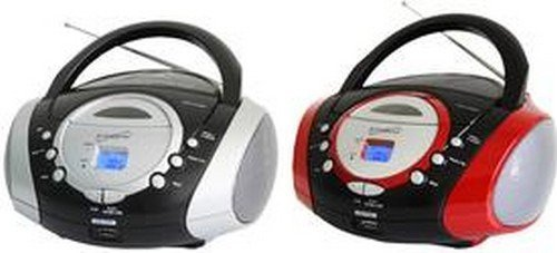 Supersonic Portable Audio System MP3/CD Player with USB/AUX