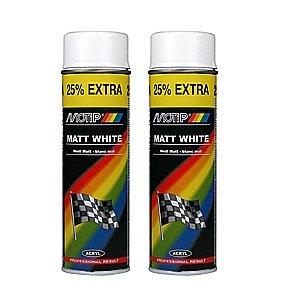 Shield AutoCare Motip Blanc mat 500 ml Peut X 2