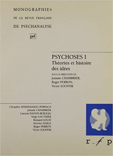 Livre gratuits en ligne Psychose; tome 1 : Théorie et histoire des idées pdf, epub