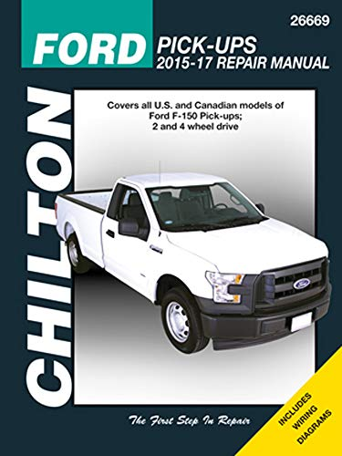 Chilton Ford F-150 2WD & 4WD Repair Manual (2015-2017)