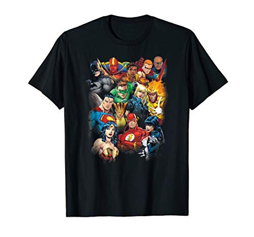 Justice League The Leagues All Here T Shirt
