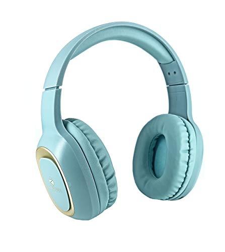 ZEBRONICS Zeb Paradise Bluetooth Headphone Headset with MIC  Green