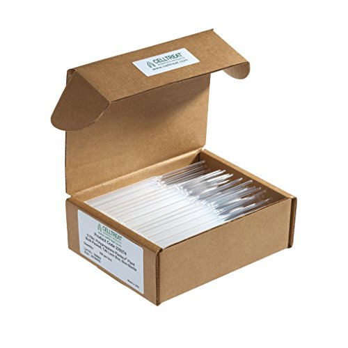 "Celltreat Scientific 229274 Plasteur Pasteur Pipet, Non-Sterile, Bulk Packed, Tab Lock Box, 5.75"" Length, Polypropylene (Pack of 1000)"