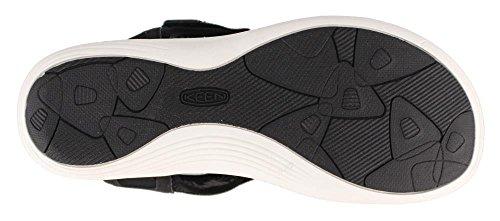 Womens Gargoyle Keen Size Strap Black Sandal 8M Strappy Maya IqIRwpCU