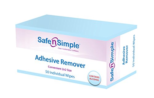 (Safe n' Simple Adhesive Remover, 50 Count)