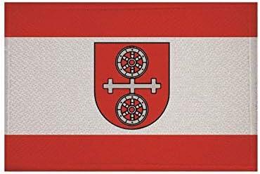 U24 Aufn/äher Gau-Algesheim Fahne Flagge Aufb/ügler Patch 9 x 6 cm