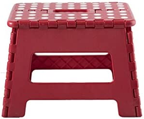 Viking Non-Slip Folding Step Stool for Kids and Adults Green