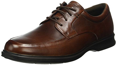 New 2 Dressports Lea Toe Apron Lite Marrone Stringate Basse Brown Scarpe Uomo Rockport 4vwq57d4