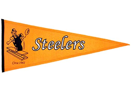 Pennant Steelers Throwback Pittsburgh (Winning Streak Pittsburgh Steelers Throwback Pennant (32
