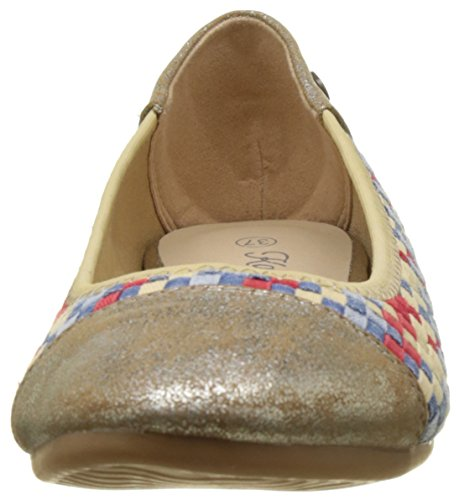 Damen Toe für Blair Ballerinas Kaporal mehrfarbig Closed EqC6Xnw