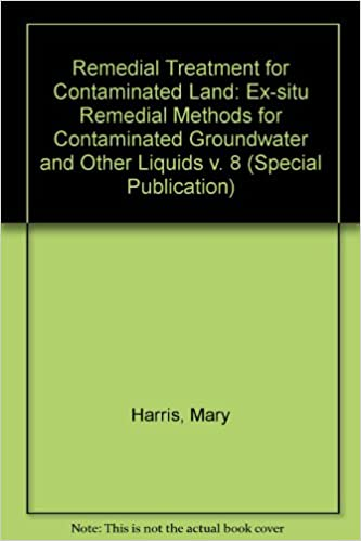 Book Remedial Treatment for Contaminated Land: Ex-situ Remedial Methods for Contaminated Groundwater and Other Liquids v. 8 (Special Publication)