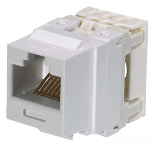 Panduit NK688MEI Category-6 8-Wire Jack Module, Electric Ivory, (Tx6 Jack)