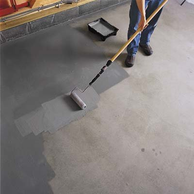 Garage Floor Amp Driveway Paint 2 Part Acrylic Epoxy