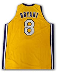 7b81bd1bd Kobe Bryant Hand Signed Auto  8 Yellow Jersey Los Angeles Lakers PSA DNA COA
