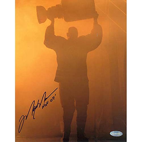 Retirement Night Entering through Smoke with Stanley Cup w/