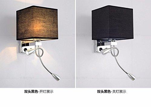 Muro lampada abat jour illuminazione lampada ha portato moderno