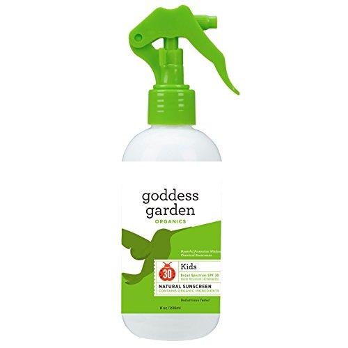 Goddess Garden, Organics, Kids Natural Sunscreen, SPF 30, 8 oz (236 ml) - 3PC by Goddess Garden