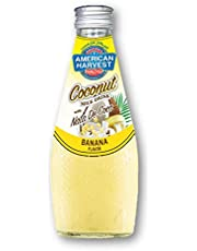 American Harvest Coconut Milk With Nata De Coco Banana