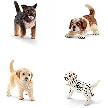 Amazon.com: Schleich Dog Puppy Gift Set Dogs and Puppies