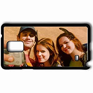 Personalized Samsung Note 4 Cell phone Case/Cover Skin 127 Hours James Franco Aron Ralston Kate Mara Kristi Amber Tamblyn Megan face Movies Black