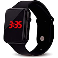 Style Keepers Digital Black Color (Series-4) led Watch for Boys and Girls - 1213