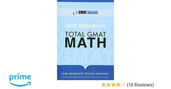 jeff sackmann total gmat math