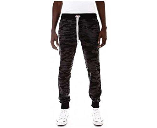 Camou Slim Stars Unisex Sweet Pantalons Pants Black OCnqwtHFXx