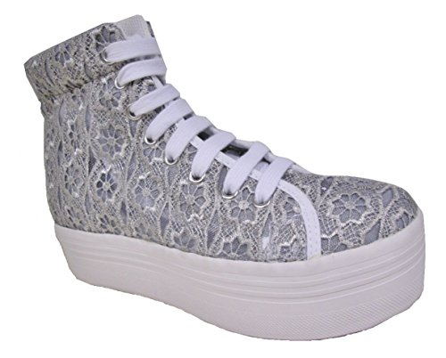 Sneakers Jc Homg Campbell Donna Lace Pizzo Play Grigio Jeffrey Alte pq6gCwC
