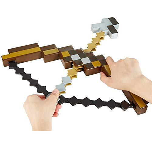 WENHSIN Toy Pixel Mosaic Bow Arrow Set Plastic Assembled
