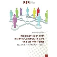 Implémentation d'un Intranet Collaboratif dans une Ese Multi-Sites: Sous la Plate-Forme SharePoint Fondation