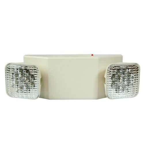 eTopLighting 2Packs LED Emergency Exit Light - Standard Square Head UL924, EL5C12-2