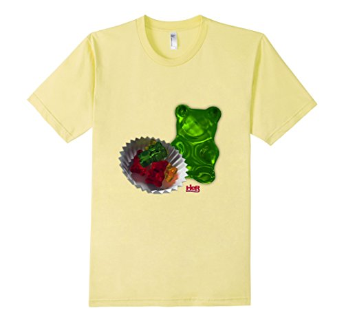 Nancy Drew: Gummy Bears - Male Large - Lemon (Gummy Bear Shirt compare prices)