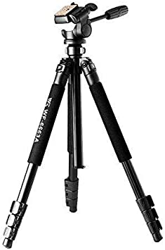 Weifeng WF-6663A Tripod Includes Head for Binoculars Video Camera Camcorder