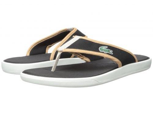 593c4191aff96 Lacoste(ラコステ) メンズ 男性用 シューズ 靴 サンダル フラット L.30 Sandal 218