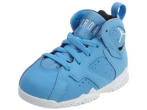 Jordan 7 BT Intants/Toddlers Shoes University Blue/White 304772-400 by Jordan