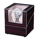 Single Watch Winder Box Automatic Rotation Storage Wood Case Luxury Design for Organizer Display Jewelry