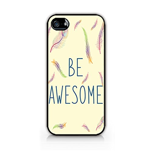 new style 9a6a2 fbb9c Amazon.com: Typo Style Case for iPhone 5/ iPhone 5S - Feather ...