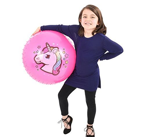 18'' UNICORN KNOBBY BALL, Case of 1 by DollarItemDirect