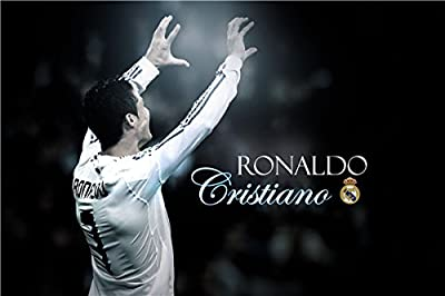Cristiano Ronaldo Poster Paper Print(12 inch X 18 inch, Rolled) By A-ONE POSTERS
