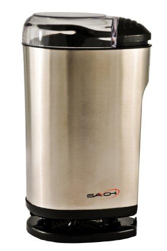 Saachi SA-1440 Stainless Steel Coffee Grinder / Spice Grinder