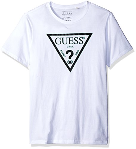 GUESS Mens Double Triangle T Shirt