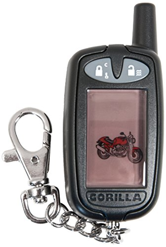 Gorilla Automotive 8017-5B 2-Way Pager Transmitter for 8017 and 9100 Cycle Alarms