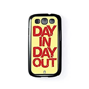 Day In Day Out Black Hard Plastic Case for Samsung? Galaxy S3 by Blunt Cards + FREE Crystal Clear Screen Protector
