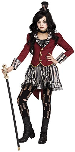 Freak Show Costumes For Halloween (Freak Show Circus Ringmistress Kids Costume)