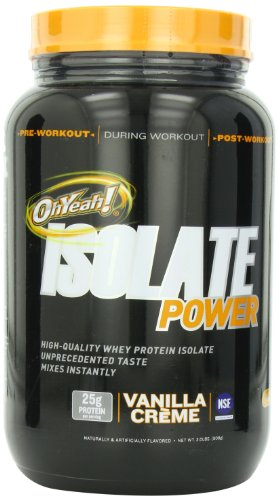 ISS Research OhYeah! Isolate Power, Vanilla Creme, 2 Pound