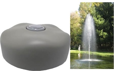 EasyPro Pond Products ACF1 Fountain Head Rocket Nozzle with 24'' Float by EasyPro Pond Products