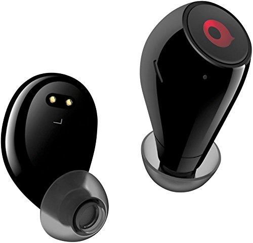 crazybaby Air Bluetooth Wireless Earbuds Headphones Black