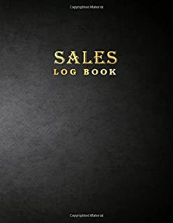sales log book business record journal companies shops 8 5 x 11